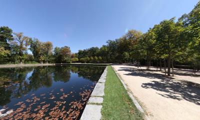 Lago del cuadrado - la granja de san Ildefonso
